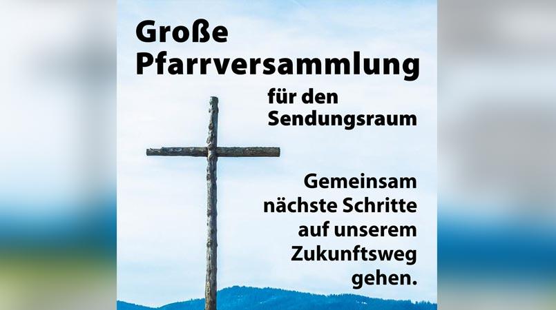 Große Pfarrversammlung in Engelskirchen für den Sendungsraum