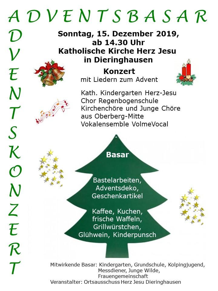 Adventskonzert und Basar in Dieringhausen