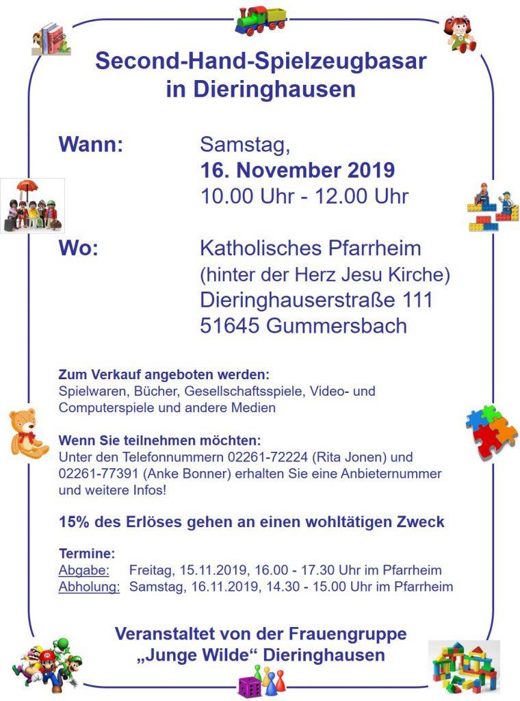 Spielzeugbasar in Dieringhausen