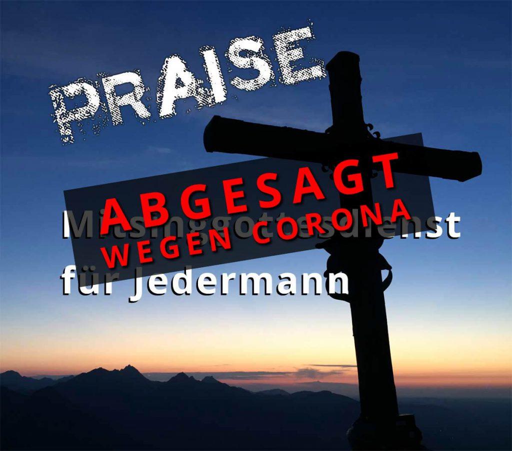 PRAISE-Gottesdienst in Niedersessmar – A B G E S A G T –